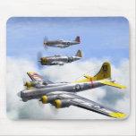 B-17 P-47 P-51 MOUSEPAD ALFOMBRILLAS DE RATONES