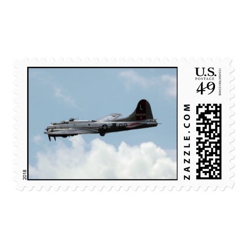 B-17 POSTAGE STAMP