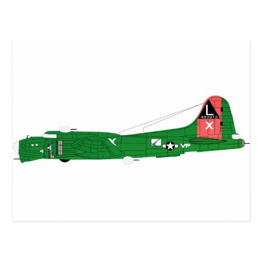 B-17 que vuela Fortress-2 Postales
