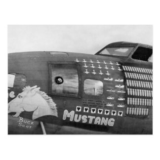 B-17f Flying Fortress WWII Bomber Postcard