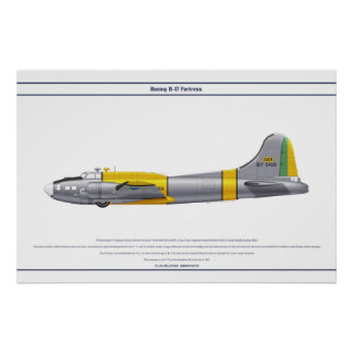 B-17G Brazil 1 Poster