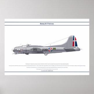 B-17G Dominican Republic 1 Poster