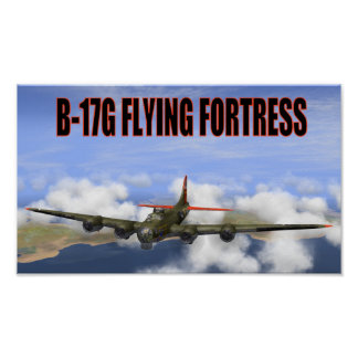 B-17G FLYING FORTRESS POSTER