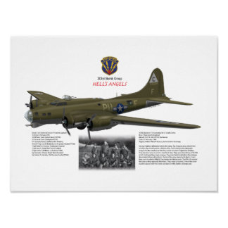 B-17G of 303rd Bomb Group_Lt Cook's Crew Poster