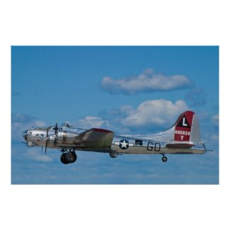 B-17G Superfortress Taking Off Posters