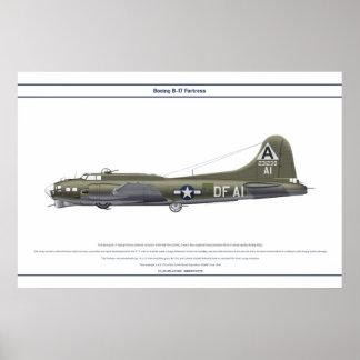 B-17G USA 324BS 1 POSTER