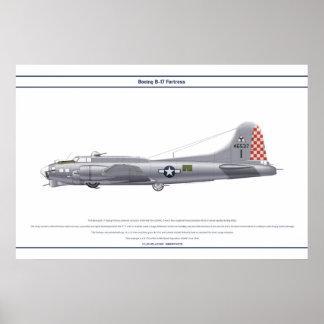B-17G USA 340BS 1 POSTER