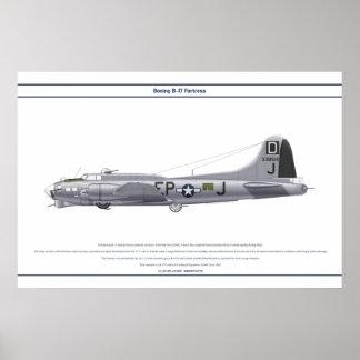 B-17G USA 351BS 1 POSTER