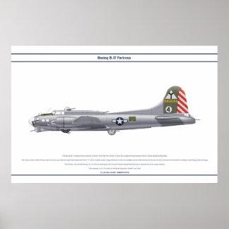 B-17G USA 414BS 1 POSTER