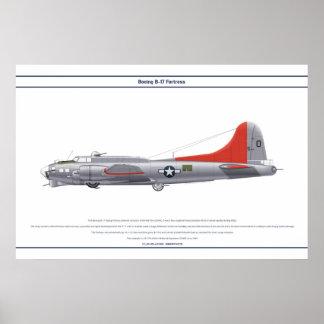 B-17G USA 4BS 1 POSTER