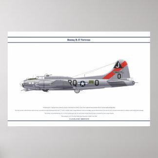 B-17G USA 509BS 1 POSTER