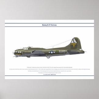 B-17G USA 535BS 1 POSTER