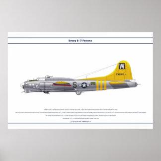 B-17G USA 835BS 1 POSTER