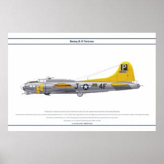 B-17G USA 837BS 1 POSTER