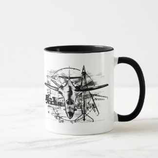 B-1 Lancer 11 oz Ringer Mug