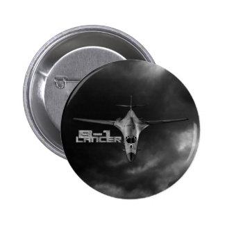 B-1 Lancer 2 Inch Round Button