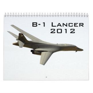 B-1 Lancer Calendar
