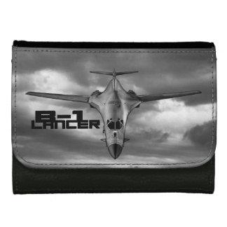 B-1 Lancer Medium Leather Wallet