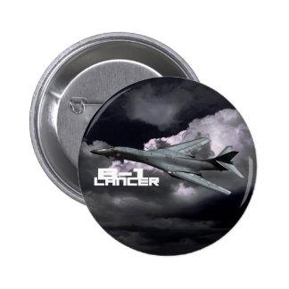 B-1 Lancer Round Button