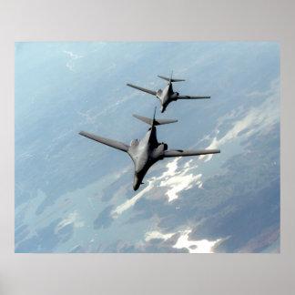 B-1 Lancers Poster
