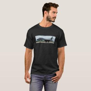 Designer T Shirts for Men with USAF B-1 Lancer Aircraft Image All Over Print