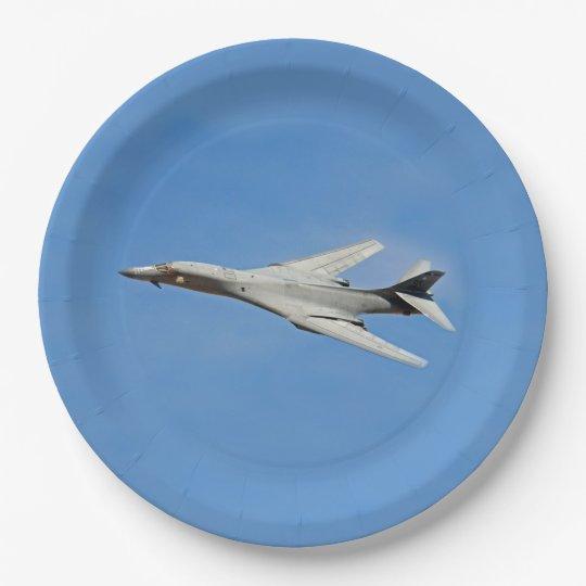 B-1B Lancer Bomber Wings Swept Paper Plate  sc 1 st  Zazzle & B-1B Lancer Bomber Wings Swept Paper Plate | Zazzle.com