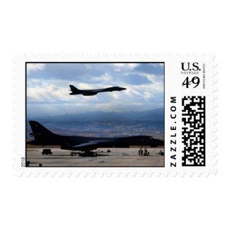 B-1B Lancer Stamp
