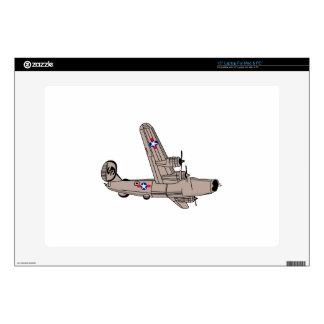 "B-24 Liberator 15"" Laptop Decals"