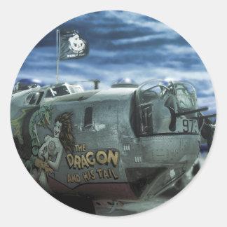 B-24 Liberator Classic Round Sticker