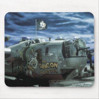 B-24 Liberator mousepad