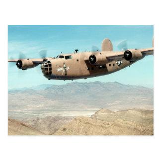 B-24 Liberator Postcard