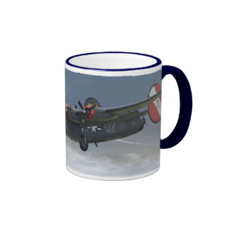 B-24_Liberator Ringer Coffee Mug