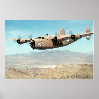 B-24 poster del libertador 2