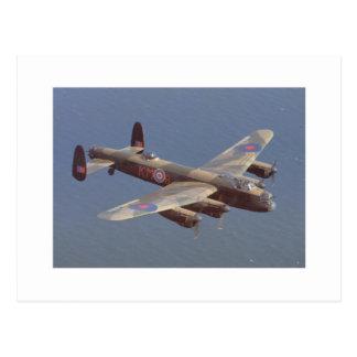B-25 Bomber Aircraft Postcard
