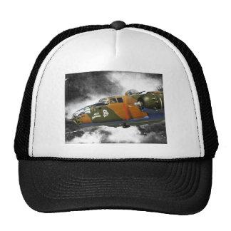 B-25 Bomber 'axis nitemare' Trucker Hat