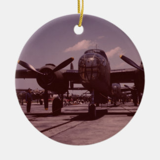 B-25 Bomber Ceramic Ornament