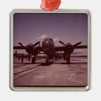 B-25 Bomber Metal Ornament