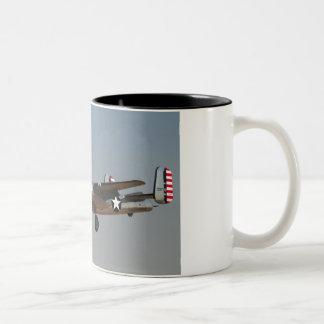 B-25 BOMBER Two-Tone COFFEE MUG