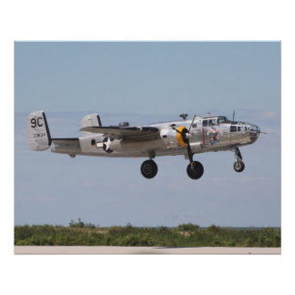 B-25 D Yankee Warrior Poster