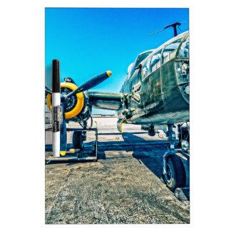 B-25 Mitchell Bomber Dry-Erase Board