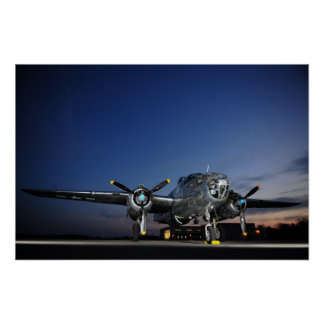 B-25 Mitchell Bomber Print