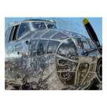 B-25 Mitchell Bomber Poster