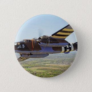 B-25 Mitchell Vintage Aircraft Button