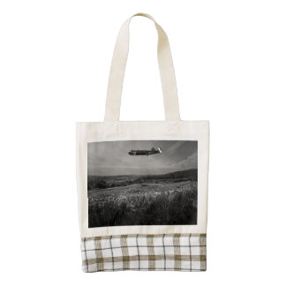 B-25 Mitchell Zazzle HEART Tote Bag
