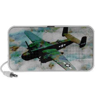 B-25 norteamericano Mitchell vol. 1 Mini Altavoz