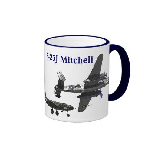 B-25J Mitchell Coffee Mugs