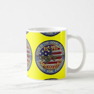 b-26 marauder classic white coffee mug