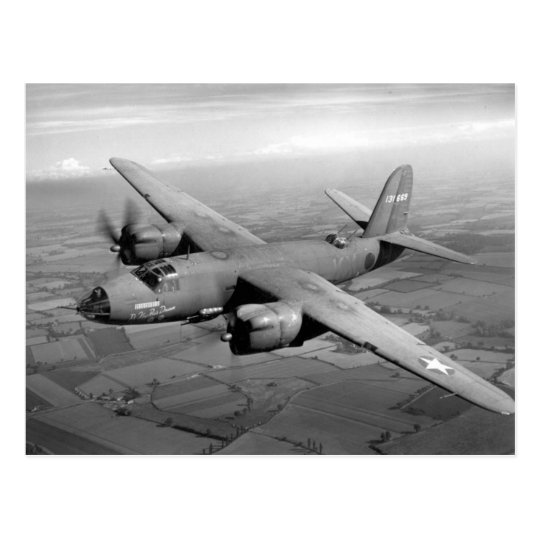 B-26 Marauder Postcard