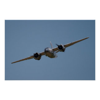 B-26 Soaring at Warbirds Over Delaware Poster