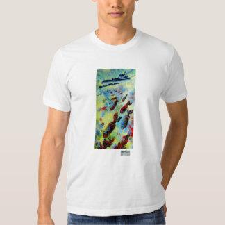 B-29, Fine Art T-shirts for Men, in White